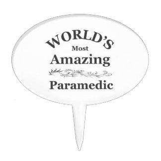 World's most Amazing Paramedic Cake Topper
