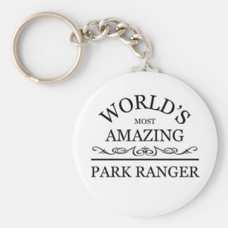 World's most amazing Park Ranger Key Chain