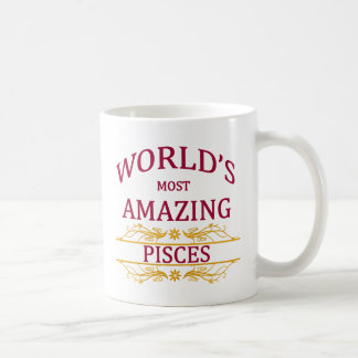 World's Most Amazing Pisces Coffee Mug