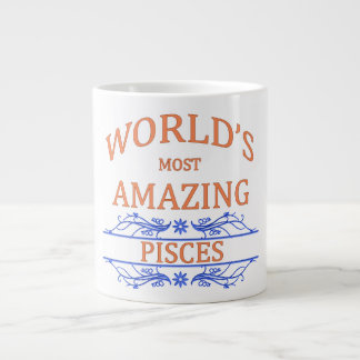 World's Most Amazing Pisces Giant Coffee Mug