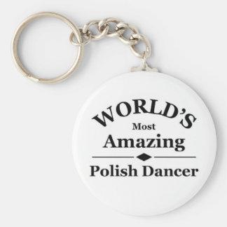 World's most amazing Polish Dancer Keychain