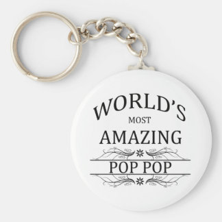 World's Most Amazing Pop Pop Keychain