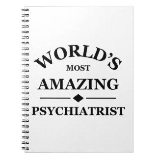 World's most amazing Psychiatrist Notebook