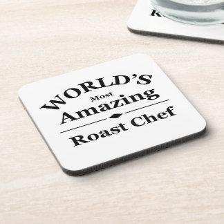 World's most amazing Roast Chef Coaster