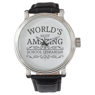 World's most amazing  school librarian wristwatch