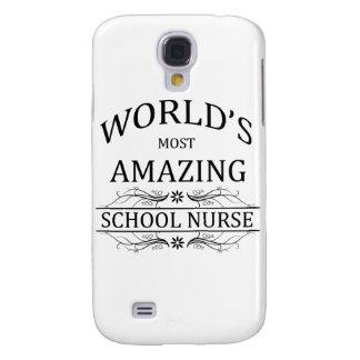 World's Most Amazing School Nurse Galaxy S4 Case
