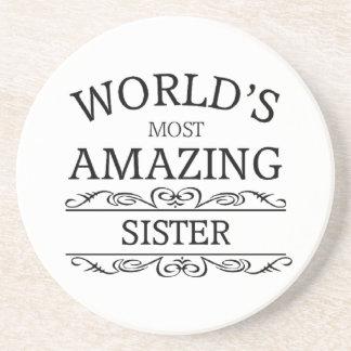 World's most amazing  sister coaster