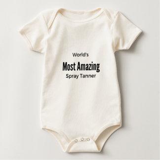 World's Most Amazing Spray Tanner - White Baby Bodysuit