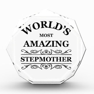 World's most amazing stepmother awards