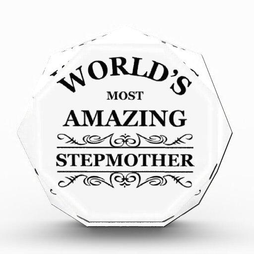 World's most amazing stepmother acrylic award