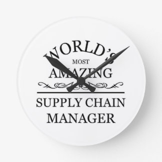 World's most amazing Supply chain manager Clocks