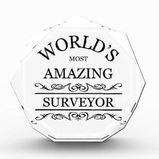 World's most amazing surveyor awards