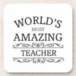 World's Most amazing teacher Coaster