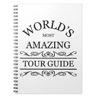 World's most amazing tour guide notebook