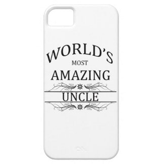 World's Most Amazing Uncle iPhone SE/5/5s Case
