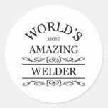 World's most amazing Welder Stickers