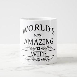 World's Most Amazing Wife Large Coffee Mug