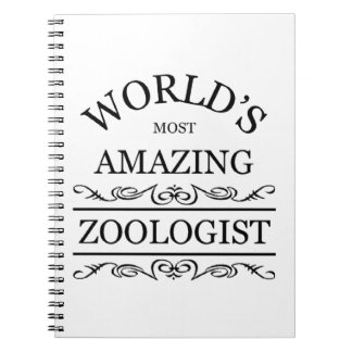 World's most amazing zoologist note book