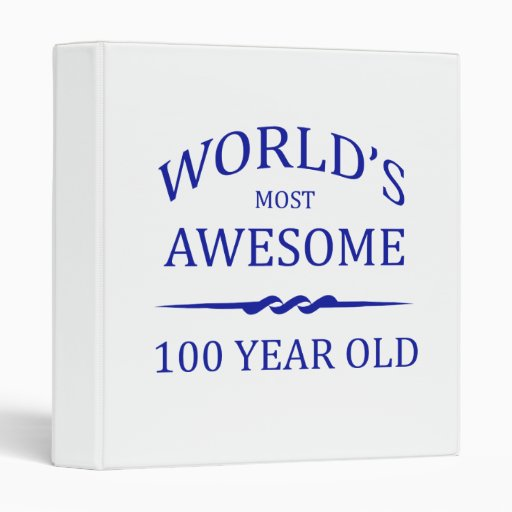 World's Most Awesome 100 Year Old Binder