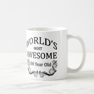 World's Most Awesome 100 Year Old Classic White Coffee Mug
