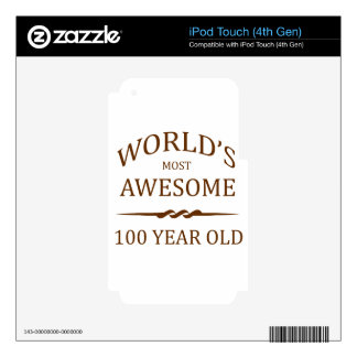World's Most Awesome 100 Year Old Decals For iPod Touch 4G