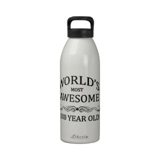 World's Most Awesome 100 Year Old Drinking Bottle
