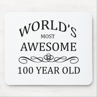 World's Most Awesome 100 Year Old Mouse Pad