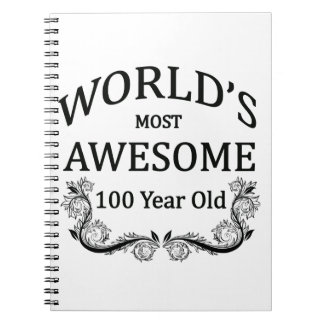 World's Most Awesome 100 Year Old Spiral Notebooks