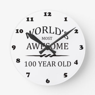 World's Most Awesome 100 Year Old Round Clock