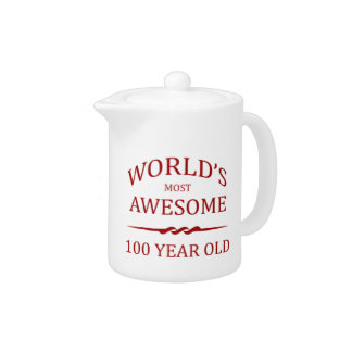 World's Most Awesome 100 Year Old Teapot