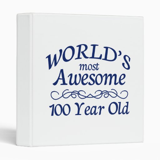 World's Most Awesome 100 Year Old Vinyl Binder