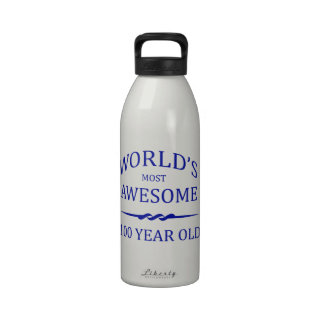 World's Most Awesome 100 Year Old Reusable Water Bottles