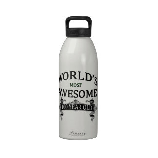 World's Most Awesome 100 Year Old Reusable Water Bottle