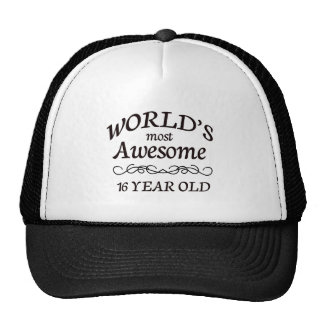 World's Most Awesome 16 Year old Hats