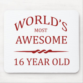 World's Most Awesome 16 Year Old Mouse Pad