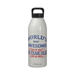 World's Most Awesome 16 Year Old Reusable Water Bottles