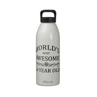 World's Most Awesome 16 Yer Old Drinking Bottles