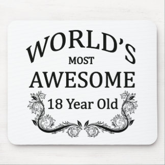 World's Most Awesome 18 Year Old Mouse Pad