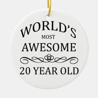 World's Most Awesome 20 Year Old Ceramic Ornament