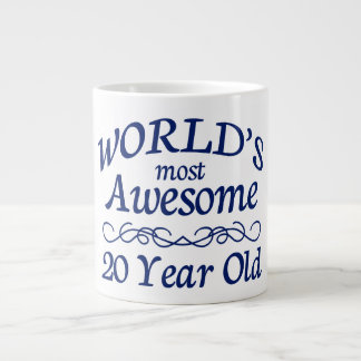 World's Most Awesome 20 Year Old Large Coffee Mug