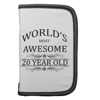 World's Most Awesome 20 Year Old Planner