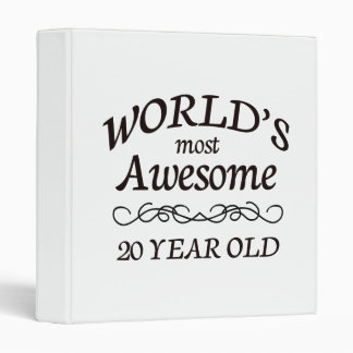 World's Most Awesome 20 Year Old Vinyl Binder