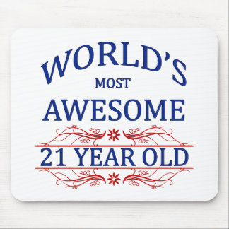 World's Most Awesome 21 Year Old Mouse Pad