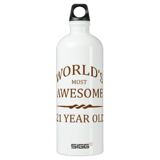 World's Most Awesome 21 Year Old SIGG Traveler 1.0L Water Bottle