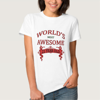 World's Most Awesome 21 Year Old T-shirts