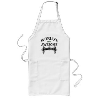 World's Most Awesome 25 Year Old Long Apron