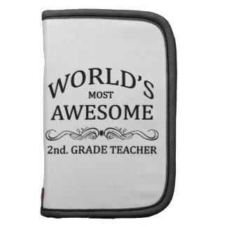 World's Most Awesome 2nd. Grade Teacher Organizer