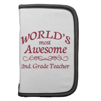 World's Most Awesome 2nd. Grade Teacher Planner