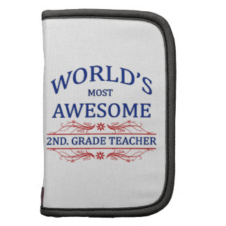 World's Most Awesome 2nd. Grade Teacher Planners