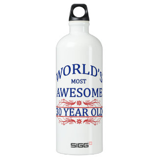 World's Most Awesome 30 Year Old Aluminum Water Bottle